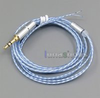 b w cable - 4n OCC Pure Silver Plated Cable For Repair DIY Shure B W JVC SONY Headphone Earphone LN005234