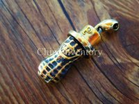 beautiful person - Brass Handmade Peanut Sir Person with Hat Design Pendant Key Accessory Fashion Beautiful g pc