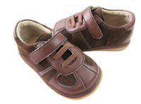baby sound shoes - Customize sound baby and slip resistant bb shoes soft leather outsole casual shoes s037