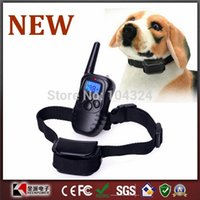 Wholesale New Rechargeable And Waterproof LCD Remote Control Pet Training Collar
