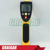 Wholesale 8895 High Temp IR Meter AZ8895 Gun Type red non contact infrared thermometer Thermometer range C C