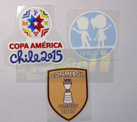 Wholesale Chile Copa America UNICEF PATCH CONMEBOL Campeon soccer patch soccer Badges