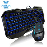 aula killing soul - AULA Killing the Soul Professional Light Emitting Backlit USB Wired Key Gaming Keyboard D Games Mouse Combos for DOTA