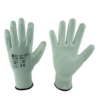 coated gloves - 5004W PU coated gloves with nylon shell