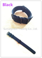 Wholesale MM Tactical Nylon Zulu Ring Strap For Suunto Core Watch Band Black