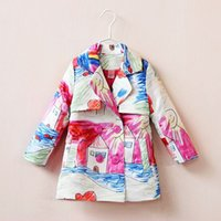 kids winter jackets - Children Jackets Designer Girl Baby Girl Coat Autumn Long Winter Jacket For Girls Clothes Outerwear Kids Clothing Kids Jackets Coats
