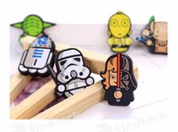 Wholesale Star Wars Darth Vader Fridge Magnet Fridge Sticker Cartoon Starswars Solider Yoda Fridge Magnet Funny Refrigerator Toy Free DHL