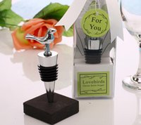 wine stopper - Birdie bottle stoppers stainless steel Wine stopper for wedding supplies