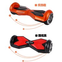 safe - Two Wheels Self Balancing Smart Electric Scooter Dual Wheel Personal Transporter Stable Safe Drifting Board with Bluetooth Speaker LED Light