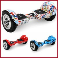 4 wheel - New Arrivel Inch Graffiti Version Tire Smart Scooter Self balancing Two wheel Electric Scooter with LED Light Outdoors Sport