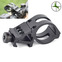 Wholesale M0007 Inch mm Flashlight Torch Laser Rifle Scope Mount Weaver mm Picatinny Rail