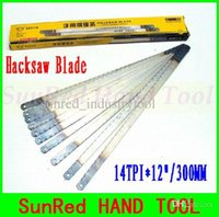 Wholesale SunRed BESTIR taiwan made TPI quot mm Steel Saw Blades wood plastic iron cutting hand tools NO