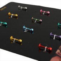 alternative offers - 2015 Special Offer Time limited Copper Chirstmas Plating Unisex Foreign Trade Jewelry Selling Alternative Body Piercing Nose Stud Earrings