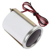 auto voltmeter gauge - 2pcs quot mm V Voltage Meter Gauge Voltmeter for Auto Car With Led Display CEC_526