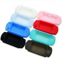 Wholesale PSP Silicone cases colours PSP Protective cover PSP3000 replacable bags