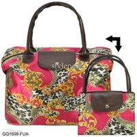 animal print handbags - Colors New Women Handbags Vintage Flower Animal Print Folding Bag Fashion Handbag Bolsas Femininas QQ1
