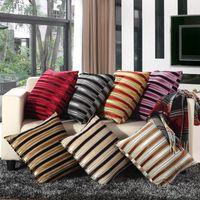Quente tecido de lã almofada do sofá com núcleo de travesseiro removível e lavável 50 * 50 centímetros