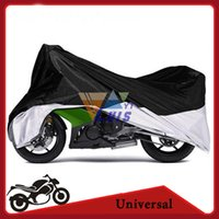 Wholesale US Stock Motorcycle Bike Cover Polyester Tilt Waterproof Anti UV Scooter Motorbike Cover Cruisers Bikes Outdoor Indoor Protection