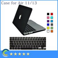 Wholesale Matte Rubberized Shell Case with Silicone keyboard Cover for New Mackbook Retina for Macbook Air Inch Pro Retina Inch