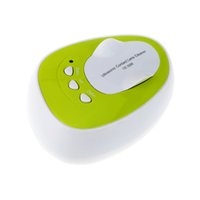 Wholesale Portable Mini Ultrasonic Contact Lenses Cleaner Machine Cleaning Sterilization Daily Care Minutes ML KHz order lt no track