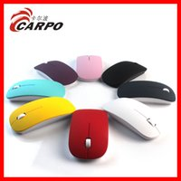 Wholesale 2014 hot Factory Offer G Wireless Ultra Thin Optical Mouse Colorful For Laptop Notebook PC DHL free
