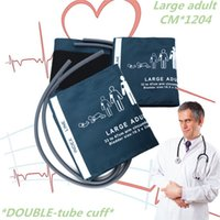 Wholesale 1PCS Prefect product Large adult CM Big adult Double tube cuff arm for Blood pressure monitoring monitor SALE NEW STYLE for people
