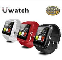 U8 U Montre Avec Altimètre Bluetooth Smart Watch montre-Bracelet Pour iPhone 4 4S 5 5S Samsung S4 Note 2 Note 3 HTC Téléphone Android Smartphones 20P