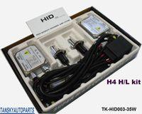 Wholesale 35W set ctn Headlight Bulbs Lamp Xenon HID Kit H4 H L k k k k k k TK HID003 W