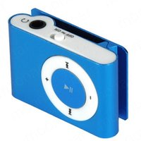 Wholesale High Quality MINI Clip MP3 Player With Micro TF SD Card Slot With Cable USB Earphone Music players M DA0595 S1