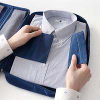 t-shirt bags - 30pcs Portable Travel Clothes Nylon Storage Bags CM Crease resist Tie shirt T shirt Pouch Travel Accessories