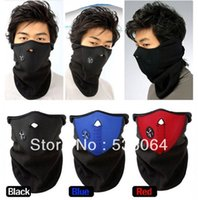 Wholesale 10pcs Neoprene Winter Neck Warmer Warm Face Mask Cover Facemask for Motorcycle Color