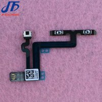Wholesale 10pcs Volume Mute Button Switch Connector Parts Flex Cable for iPhone Plus quot