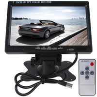 lcd monitor - HD x Inch Color LCD Screen Car Rear View Monitor with HDMI VGA Interface CMO_301