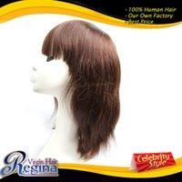 Cheap Cheap 6A grade factory direct sale virgin remy hair brazilian indian peruvian malaysian machine wig cheap wig free shipping DHL