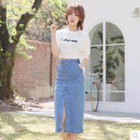 Cheap Womens Long Jean Skirts | Free Shipping Womens Long Jean ...