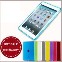 Wholesale For iPad Mini Retina Case Soft Slim Gel Rubber Premium Silicone Back Skin Cover Shell