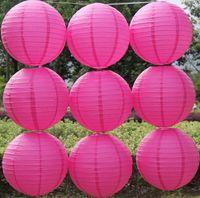 10pcs gratuites d'expédition / lot 16 '' (40cm) chinois maisons papier lanterne et de la décoration de mariage partie décoration 8 couleurs lanterne de mariage TTH8