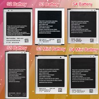 Wholesale AAAAA Mobile Phone Samsung Galaxy S5 S4 S4 Mini S3 S3 Mini S2 Battery Replacement For Samsung Galaxy S5 S4 S4 Mini S3 S3 Mini S2 Batteries