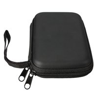 Wholesale Hot sale High Quality Black Portable Zipper External HDD Bag Case Pouch For Protection For GPS Hard Disk Drive
