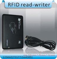 access port - Newset easyer Avoid driving kHZ T5577 EM4305 access control card read writer RFID copier USB port cards
