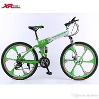 Wholesale Folding bicycles speed Mountain Bike inch magnesium alloy wheels xirui X6 road bike Outdoor sports for men women kids