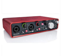 Wholesale Original FOCUSRITE Scarlett i4 USB audio interface Guitar recording sound card in out for musicians and digital DJs