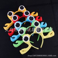 Wholesale 36g game props Children s Day Halloween Christmas Performance Products crab animal headdress headband