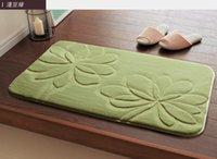 Wholesale 50 cm Soft Bath Floor Mat Bedroom Carpet Water Absorbent Kitchen Rug Floor Mat