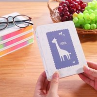 Wholesale Korean style stationery creative cartoon deer tin notebook portable spiral notebook fresh pattern hard copy notepad