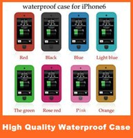Wholesale Waterproof Shockproof Hard Plastic Soft TPU Case Cover Skin Protector for Iphone S C S Samsung Galaxy S3 S4 S5 in Retail Package
