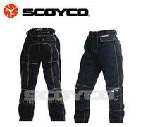Wholesale Scoyco Automobile race P017 pants ride motorcycle pants soft wear resistant casual pants light fashion clothing automobile race