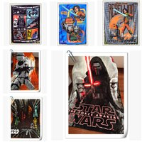 Wholesale 127 cm Star Wars Micro Plush Blanket Star Wars Darth Vader Classical Fleece Throw Soft Plush Throw Comforter Blanket Kids Gifts m1022