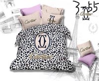 Wholesale x230 x240 quot brand New Fashion Black amp White Grids Cool Home Textile Bedding set Duvet Cover Bed