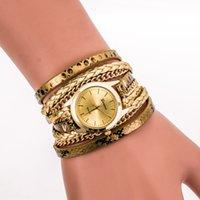 battery pull - Hot sales top fashion designer brand Women s watches retro Pull around wristwatch Casual Women s watches Bracelet